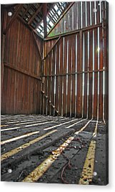 Acrylic Print featuring the photograph Barn Bones I by Jani Freimann