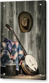 Barn Dance Hoe Down Acrylic Print by Tom Mc Nemar