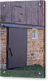 Barn Door Acrylic Print