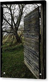 Barn Door No. 1 Acrylic Print