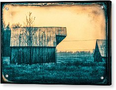 Barn Faceoff Acrylic Print