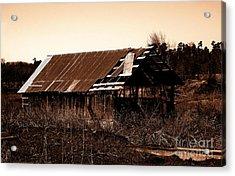 Barn Free Acrylic Print by R McLellan