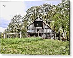 Barn II Acrylic Print by Chuck Kuhn