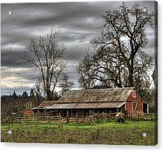 Barn In Penn Valley Acrylic Print