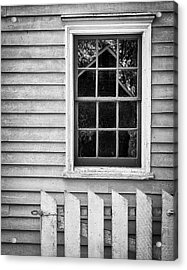 Barn In Refelction Acrylic Print by Steve Stanger