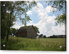 Barn Near Centralia Missouri Acrylic Print