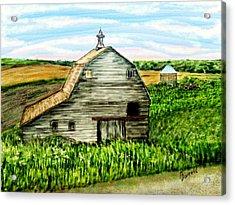 Barn Near Stanton Nebraska Acrylic Print