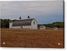 Barn On A Windy Day Acrylic Print