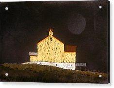 Barn On Black #3 Acrylic Print
