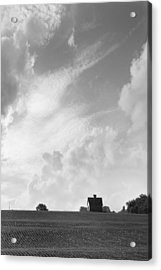 Barn On Top Of The Hill 2 Acrylic Print by Mike McGlothlen
