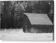 Barn Out West Acrylic Print