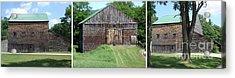 Barn Triptych Acrylic Print