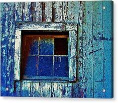 Barn Window 1 Acrylic Print
