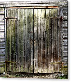 Barndoors  Acrylic Print by Olivier Le Queinec