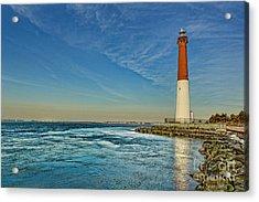 Barnegat Lighthouse - Lbi Acrylic Print by Lee Dos Santos