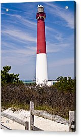 Barnegat Lighthouse Acrylic Print by Anthony Sacco