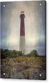 Barnegat Lighthouse Dawn Acrylic Print by Joan Carroll