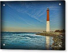 Barnegat Lighthouse II - Lbi Acrylic Print by Lee Dos Santos