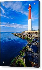 Barnegat Lighthouse Long Beach Island New Jersey Acrylic Print by George Oze
