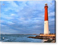 Barnegat Lighthouse Acrylic Print by Olivier Le Queinec
