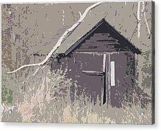Barns #4 Acrylic Print by Glenn Cuddihy