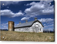Barns Are Beautiful II Acrylic Print