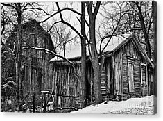 Acrylic Print featuring the photograph Barns by JRP Photography