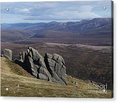 Barns Of Bynack - Cairngorm Mountains Acrylic Print by Phil Banks