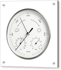 Barometer Acrylic Print by Science Photo Library