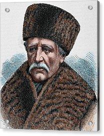 Baron Adolf Erik Nordenskjold Acrylic Print by Prisma Archivo