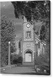 Barossa Valley Church Acrylic Print by Gordon  Grimwade