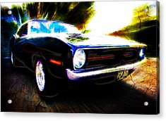 Barracuda Bliss Acrylic Print by Phil 'motography' Clark