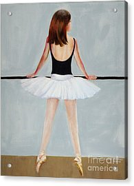 Acrylic Print featuring the painting Barre by Cynthia Parsons