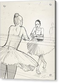Barre. Acrylic Print by H James Hoff
