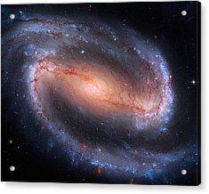Barred Spiral Galaxy Ngc 1300 Acrylic Print by Don Hammond