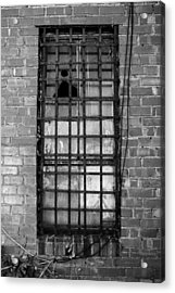 Barred Window Acrylic Print