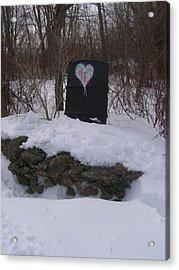 Barrel Of Heart Acrylic Print by Jonathon Hansen
