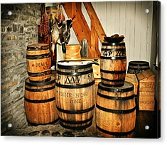 Barrels  Acrylic Print by Marty Koch