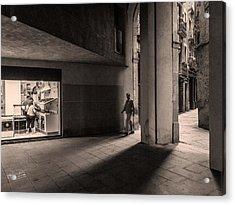 Barri Del Born, Barcelona Acrylic Print