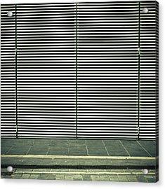 Bars Acrylic Print by Tom Gowanlock