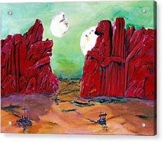 Barsoom Acrylic Print