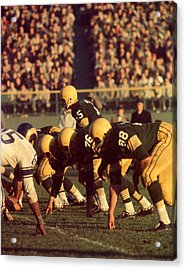 Bart Starr In Action Acrylic Print by Retro Images Archive