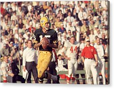 Bart Starr Vs. Chiefs Acrylic Print by Retro Images Archive