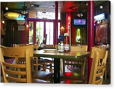 Bartime Acrylic Print by Kenneth Feliciano