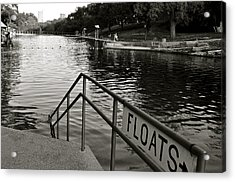 Barton Springs Pool In Austin Acrylic Print