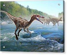 Baryonyx Dinosaur Acrylic Print
