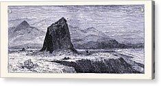 Basalt Rocks Near The Russian River United States Of America Acrylic Print