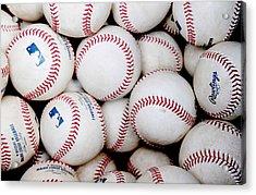 Baseball Color Acrylic Print
