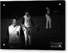 Baseball Days Acrylic Print by Karol Livote