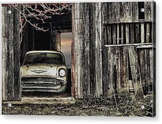 Baseball Hotdogs Applepie And Chevrolets Acrylic Print